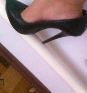Шикарные туфли из нат.кожи!!!