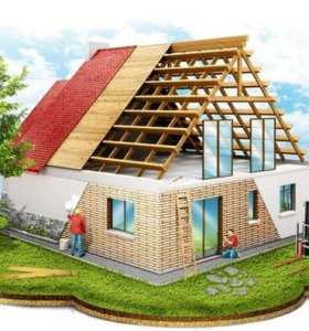 Построим дом, баню.