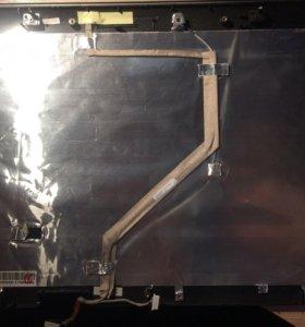 Крышка матрицы ноутбука со шлейфом инвертора