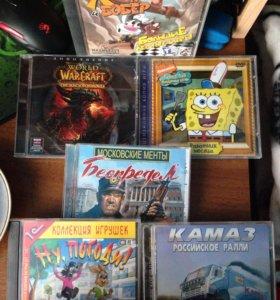 Игровые диски,за все