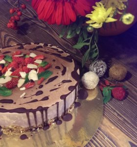 Сыроедческий торт - Трезвая вишня🍰🍒