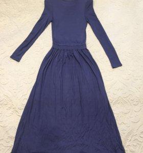 Новое (длинное) платье в пол, XS