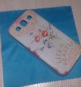 Чехол на телефон Samsung гелакси S 3