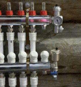 Отопление,водопровод,ремонтные работы,строительств