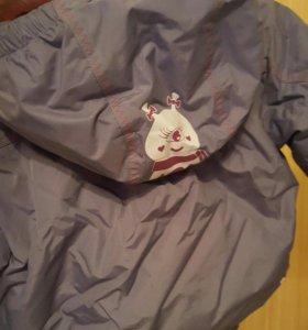Куртка для девочки демисезонная 98 см