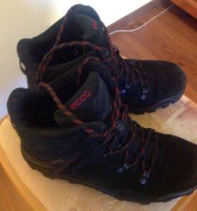 Ботинки натуральная замша,Ecco