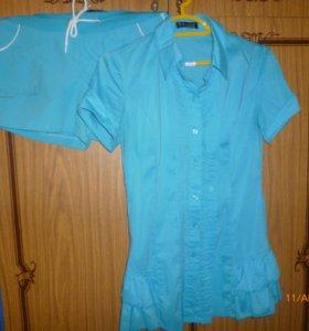 Блузка и шорты