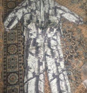 Зимний костюм для охоты и рыбалки
