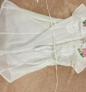 Платье, блузка.
