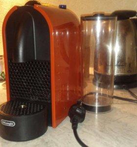 кофемашина nespresso delonghi