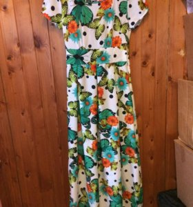 Платье в пол сарафан
