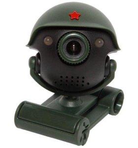 Веб-камера танкист