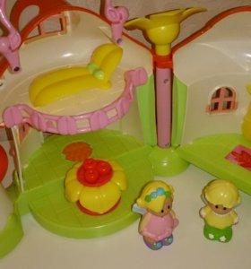 Elc домик гриб детская развивающая игрушка
