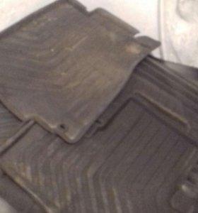 Резиновые коврики Хонда  CRV новый кузов