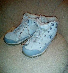 Зимние кроссовки натуральная замша