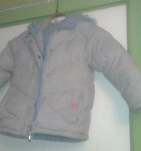 Курточка пуховик куртка зимняя 86 - 94 см