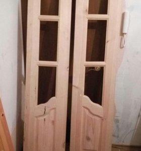 Двери, массив сосна.