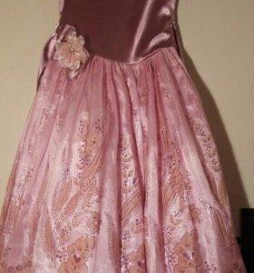 Детское бальное платье (34 размер)