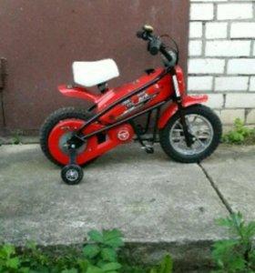 Детский электромотоцикл Joy Automatic MC-244 красн