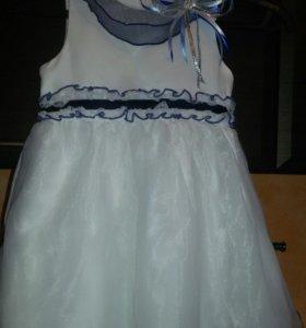 Платье на девочку 104 рост