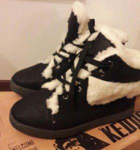 Новые зимние ботинки Keddo