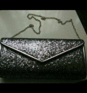 Вечерняя сумочка,клатч