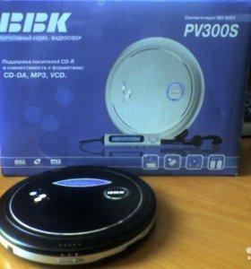BBK pv300s портативный аудио видеоплеер