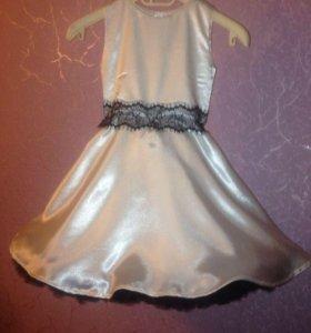 Платье для девочки с подьюбником