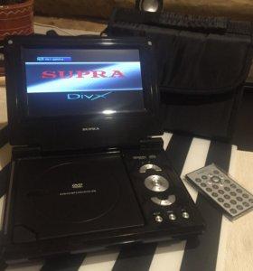 Портативный dvd, usb, MP3, cd проигрыватель