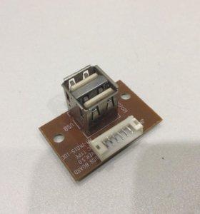 Плата со сдвоенный USB