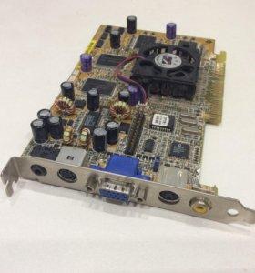 Видеокарта ASUS AGP-V7700 pro