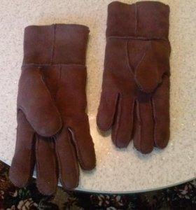 Тёплое перчатки