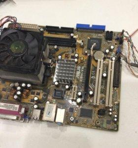Материнская плата ASUS KBN-VM с AMD Sempron 2800+