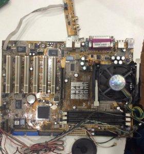 Материнская плата ASUS P48533 с Pentium 4 2,66 GHz