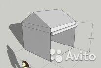 Палатка-павильон ПВХ 3*3*3м