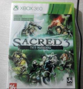 Игра на xbox360 Sacred3 гнев малахима