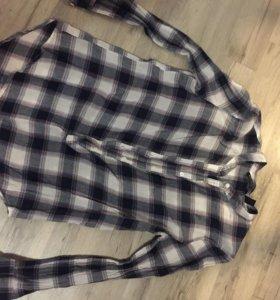 Хлопковая рубашка MANGO
