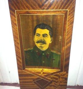 Портрет сталина;дружба слоников