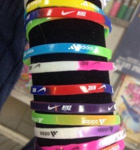 Браслеты adidas Nike