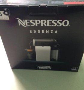 Кофемашина Delonghi Nespresso Essenza новая