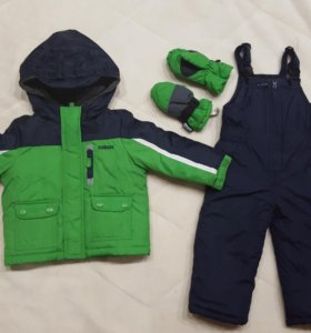 Зимний костюм р.2Т (86-92) как новый