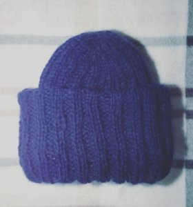"🐢Вязаная шапка ""Такори"""