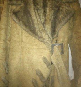 Дубленка,куртка.