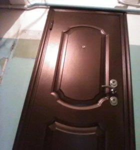 домодедово установить железную дверь