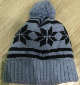 Новая шапка для мальчика на флисе