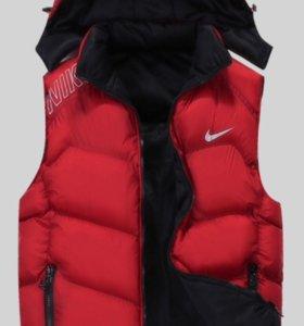 """Мужская куртка-жилетка """"Nike"""""""