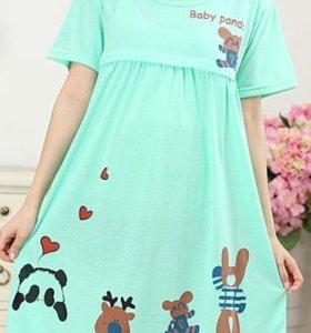 Новая ночная рубашка для беременных в роддом