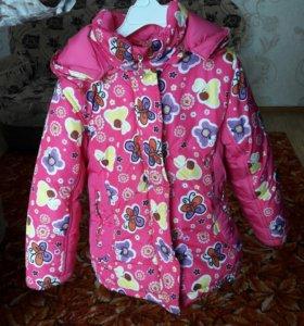 Куртка зимняя девочке