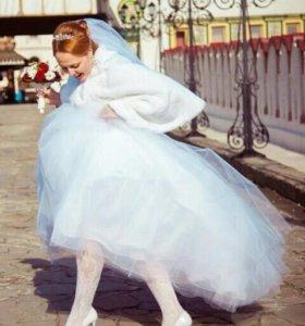 Шубка (накидка) свадебная