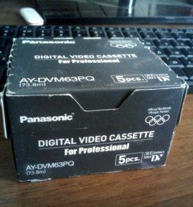 Видеокассеты panasonic Mini DV